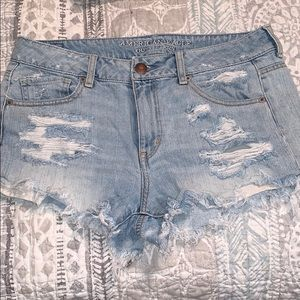 Ripped Frayed Jeans